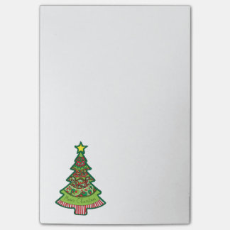 Doodle Christmas Tree Post-it Notes