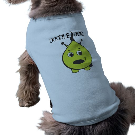DOODLE DOG SWEATER DOG T-SHIRT