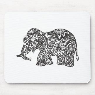 Doodle Elephant Mouse Mat