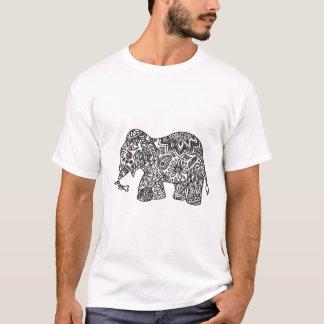 Doodle Elephant T-Shirt