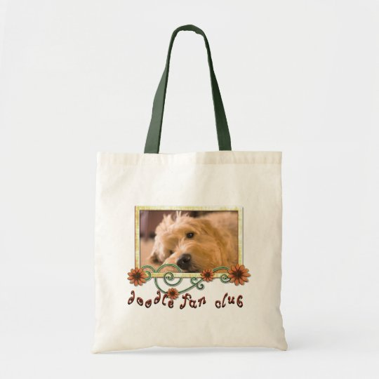 Doodle Fan Club Customisable Photo Tote Bag
