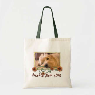 Doodle Fan Club Customizable Photo Canvas Bags