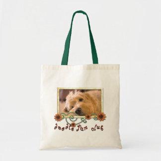 Doodle Fan Club Customizable Photo Tote Bag