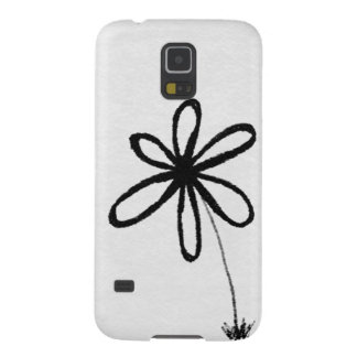 Doodle Flower Galaxy S5 Cover