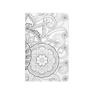 Doodle Flowers And Mandalas Journal