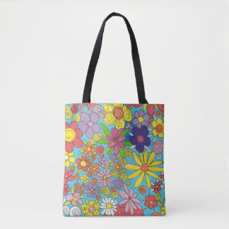 Doodle Flowers bag