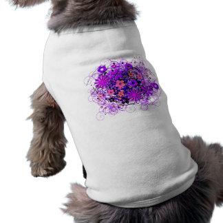 Doodle Flowers Doggie Shirt