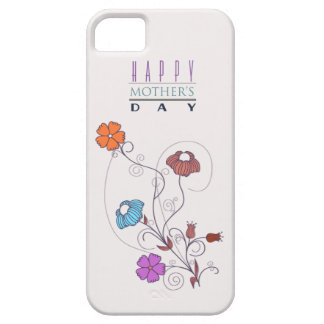 Doodle Flowers Mother s Day iPhone 5 Cover