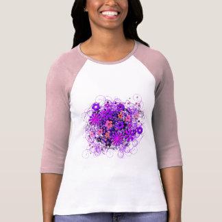 Doodle Flowers T Shirt