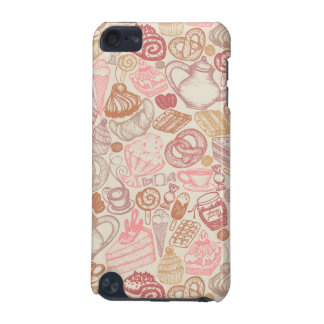 Doodle food pattern dessert iPod touch (5th generation) cover