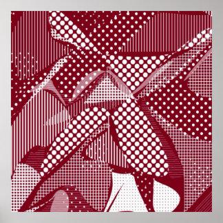Doodle Fun 06 red Print