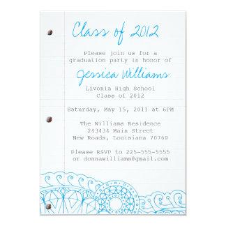 Doodle Graduation Announcement