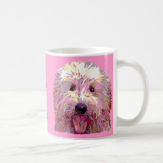 Doodle in Dazzling Pink Colors Coffee Mug