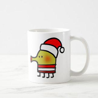 Doodle Jump Santa Mug