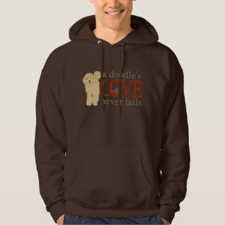 Doodle Love - Blonde Goldendoodle Hoodie