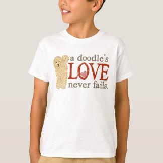 Doodle Love - Blonde Goldendoodle T-Shirt