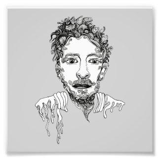 Doodle Man Photo Art