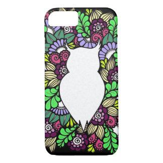 Doodle Owl Apple iPhone Phone Case