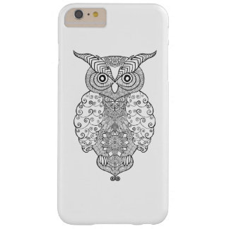 Doodle Owl Barely There iPhone 6 Plus Case
