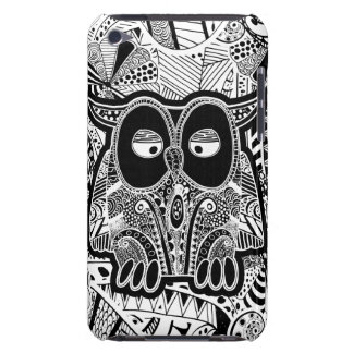 doodle owl barely there iPod case