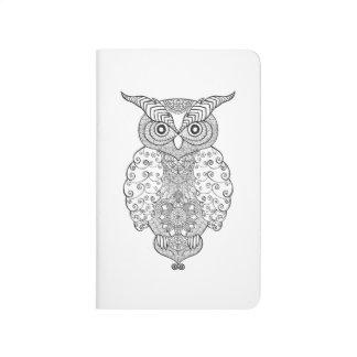 Doodle Owl Journal