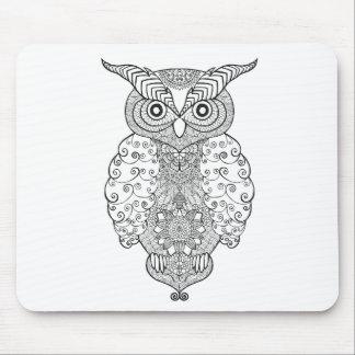 Doodle Owl Mouse Mat