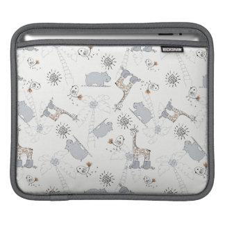 doodle pattern 2 iPad sleeve