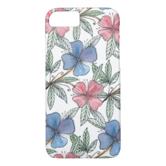 doodle patterned lines iphone case