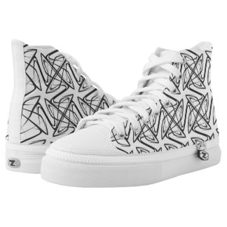 doodle patterns high tops