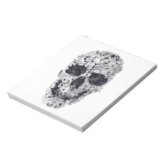 Doodle Skull Notepad