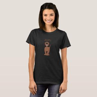 Doodle Smile brown T-Shirt