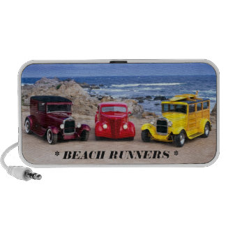 DOODLE SPEAKER  BEACH RUNNERS