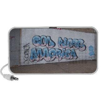 Doodle Speaker - God Bless America Graffiti