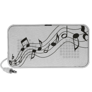 Doodle Speaker Music Notes