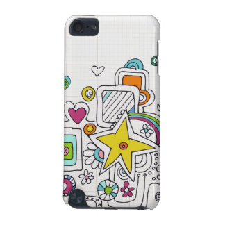 doodle swirls iPod touch (5th generation) case