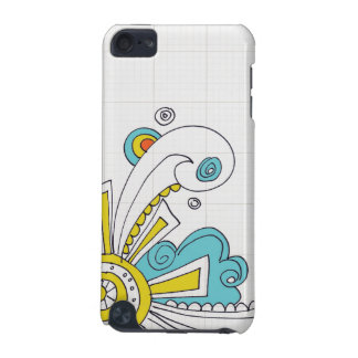 doodle swirls iPod touch (5th generation) covers