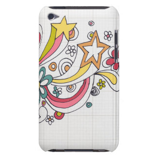 doodle swirls barely there iPod cover