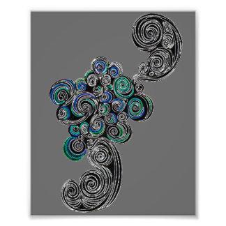 Doodle Swirls Photo Art