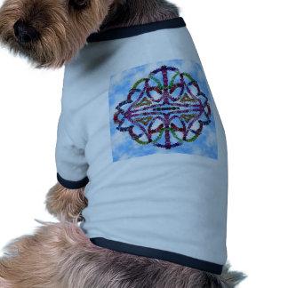 doodle tattoo stars ringer dog shirt