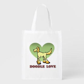 Doodle Themed Reusable Bag