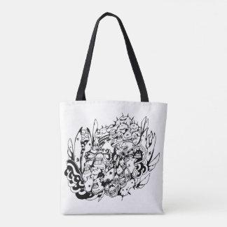 Doodle Tote Bag_Friends Zone