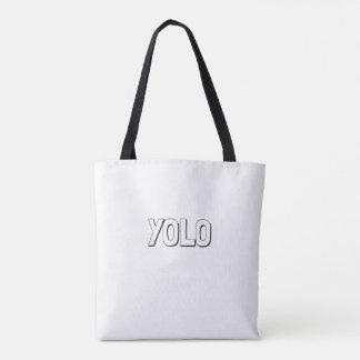 Doodle Tote Bag_YOLO