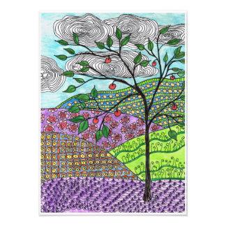 Doodle Tree Photographic Print