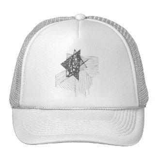 Doodle Triangle Cutout Cap