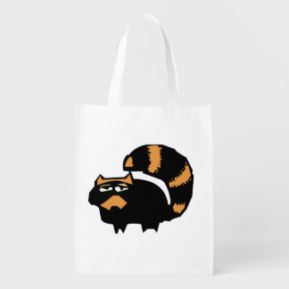 doodle wallie wear racoon shopping bags