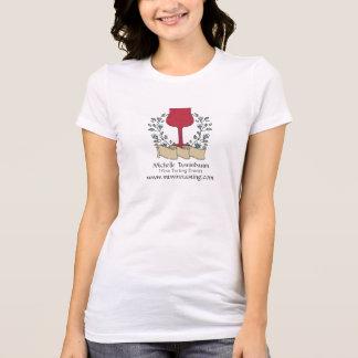 Doodle wine glass wine tasting sommelier shirt