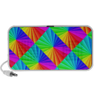 Doodle with Abstract Color Design Mini Speaker
