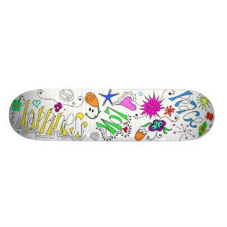 Doodleboard Skateboard Deck