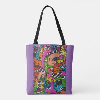 Doodled up bag