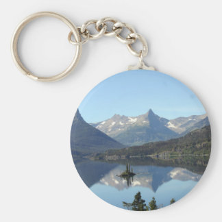 doodles 756 basic round button key ring